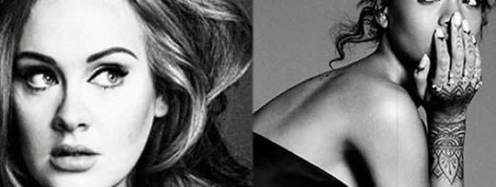 Adele et Rihanna clashées par Keith Richards