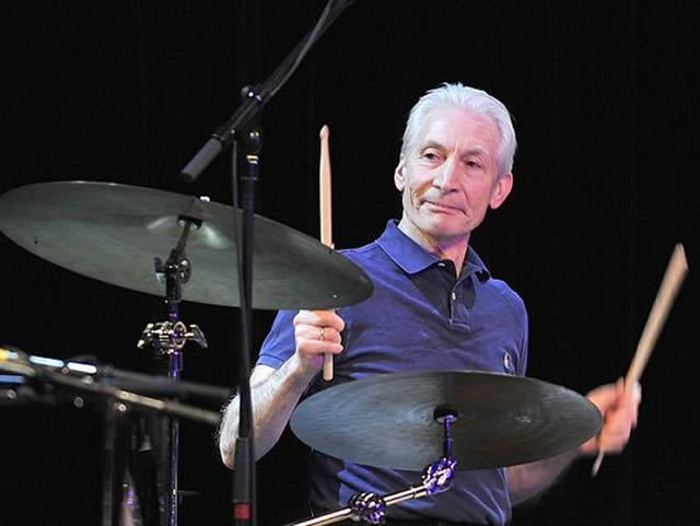 Happy 75th to Stones drummer Charlie Watts