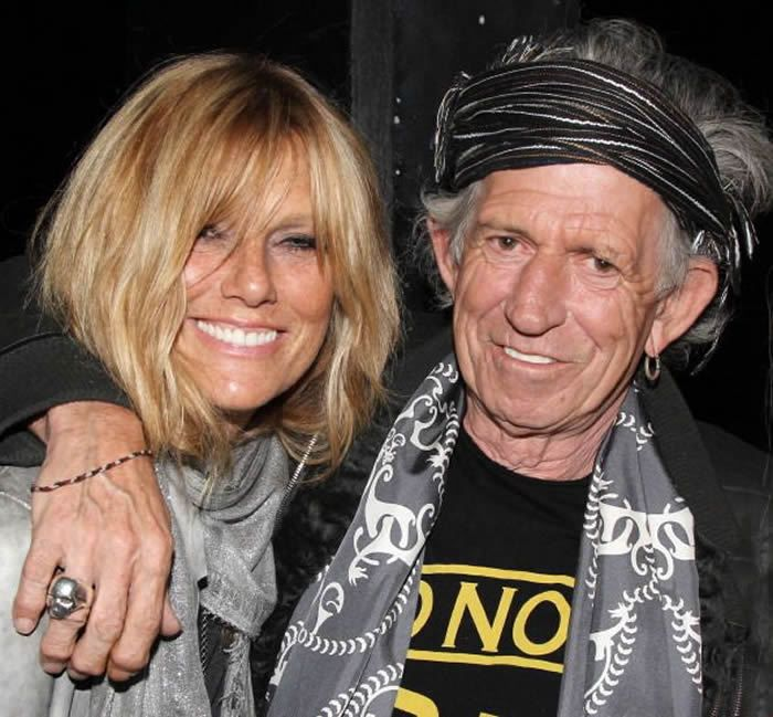 Double-Kudos for Keef! Keith Richards Turns 70 On His 30th Wedding Anniversary