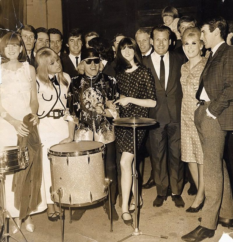 She was banned from appearing on the BBC aged just 16 following uproar about her first single, pictured (second left) at the 1965 NME awards with Cilla Black, Jimmy Savile and Dusty Springfield