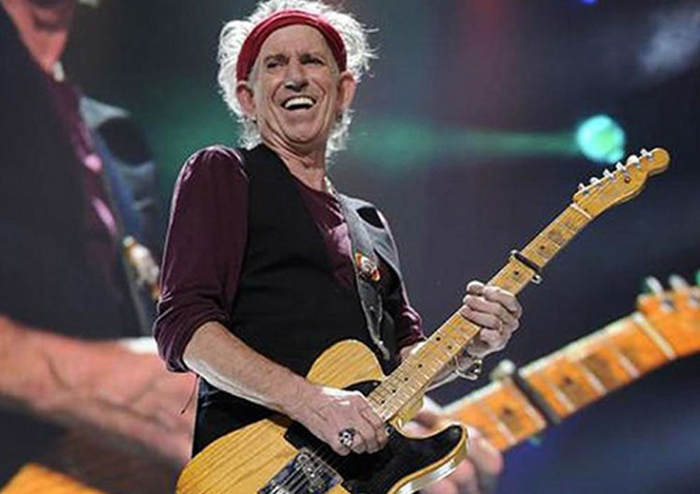 Keith Richards: &quot&#x3B;Why I Won't Use Pedals Onstage&quot&#x3B; and Six More Keef Facts