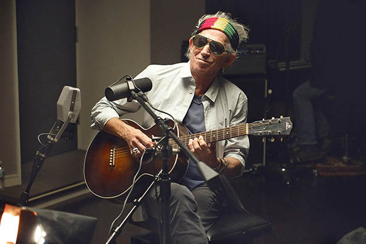 Keith Richards' Guitar Tech Reveals Keef's Studio Rig