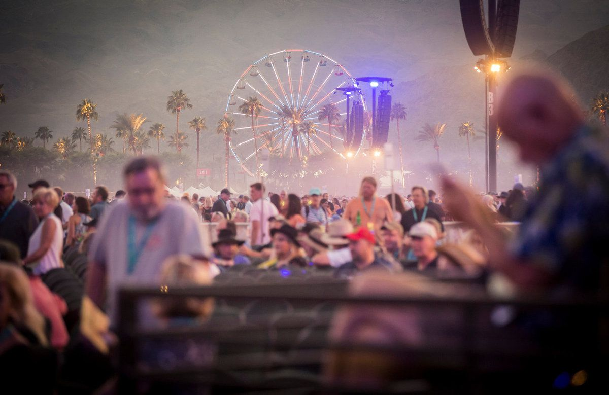 The festival in the California desert drew 70,000 fans, mostly baby boomers, but also younger fans who hadn't all been dragged along by their parents. Credit Carlos Gonzalez for The New York Times