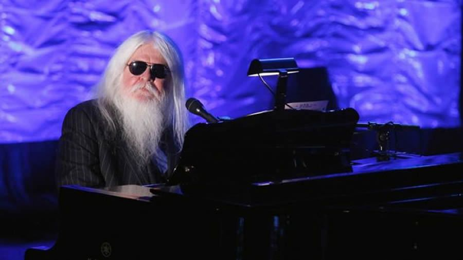 Leon Russell performing during the Songwriters Hall of Fame awards in 2011