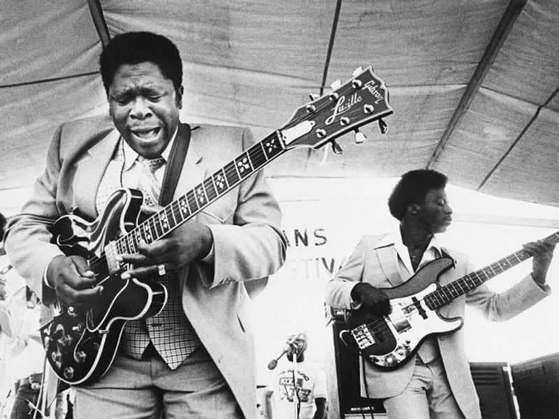 BB King: 'They can be good, they can even be better, but they can't be me! They cannot feel what I feel'