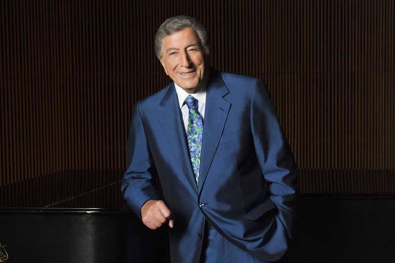 Tony Bennett in August at the DiMenna Center in New York City