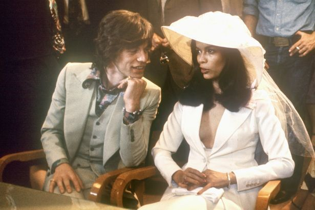 The Stone marries Bianca in 1971