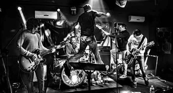 Les Parking Stones sur scène./Photo DDM, JLC