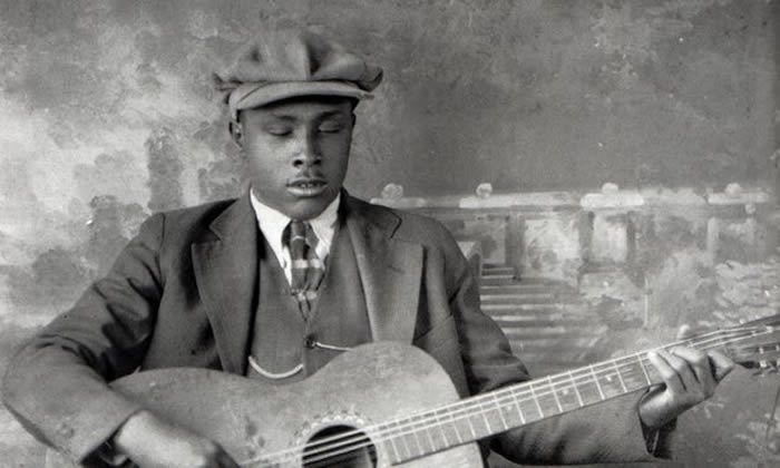 For the record … Blind Willie McTell, an early Victor artist. Photograph: GAB Archive/Redferns