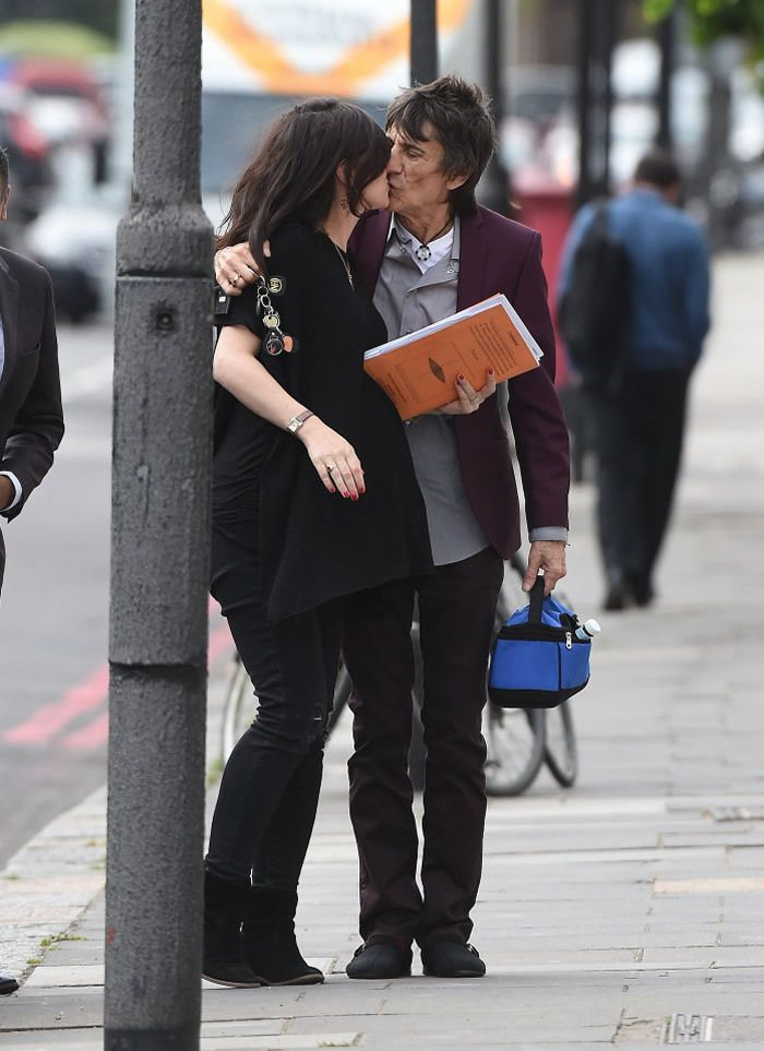 Ronnie and Sally seen in London on 20 May