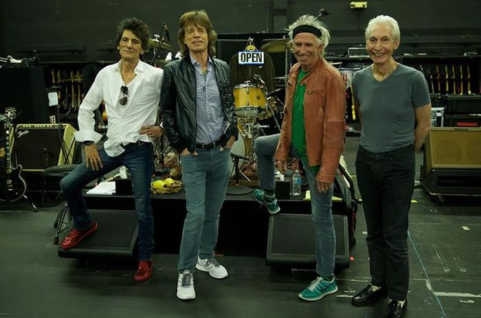 The Rolling Stones: 'These are 12 tracks in which they swing hard.'