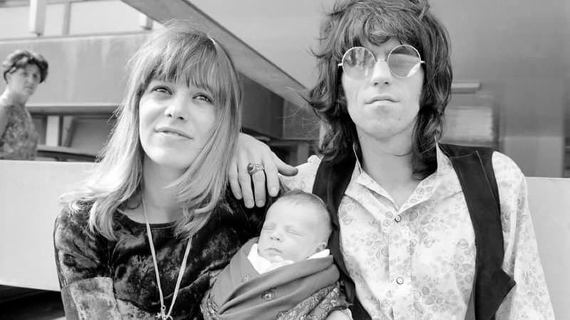 Anita Pallenberg, the actress, model and former partner of Rolling Stones guitarist Keith Richards, has died. Mirrorpix/Getty