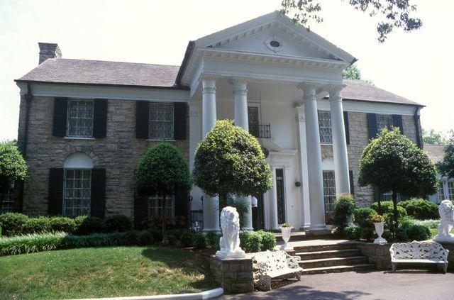 Graceland, la maison d'Elvis Presley
