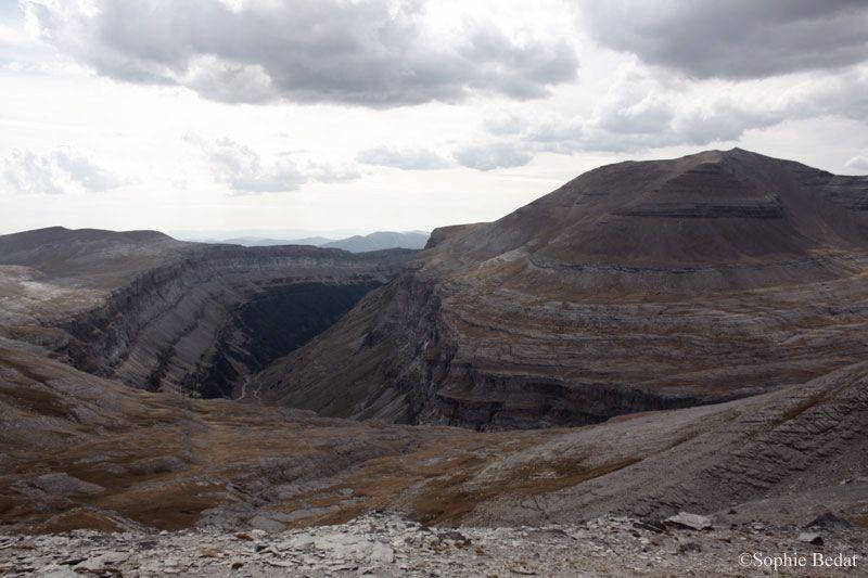 Parc National d'Ordesa, au pied du Mont Perdu (3355m) &#x3B; Pyrénées espagnoles - septembre 2012.