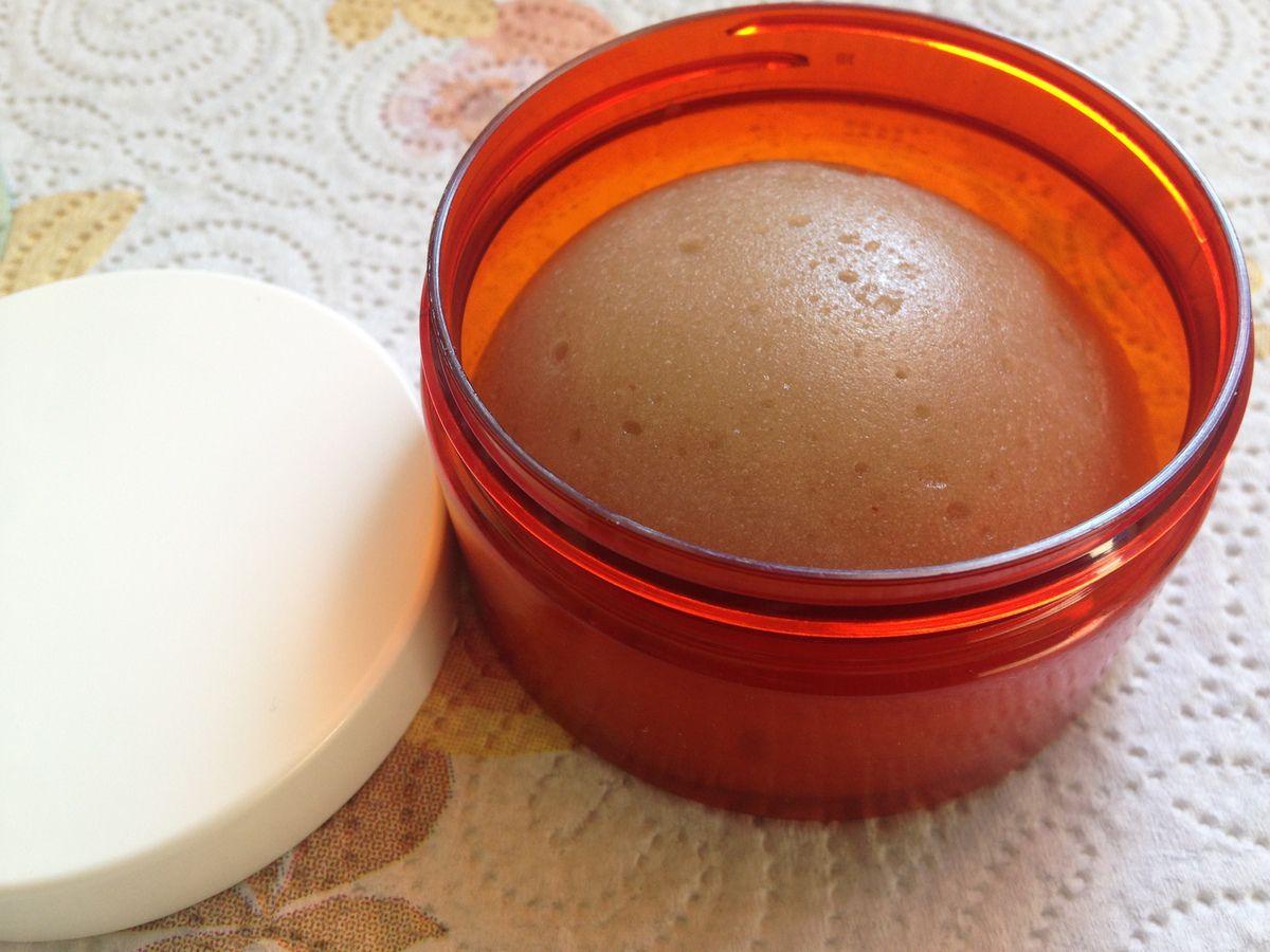 Mon éponge de Konjac et Psyllium au miel