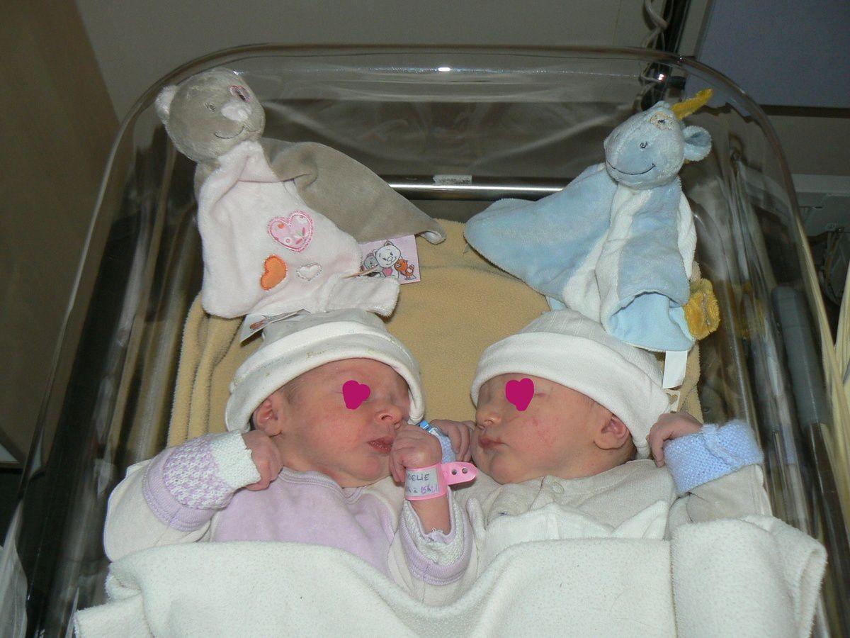 Mon accouchement de jumeaux