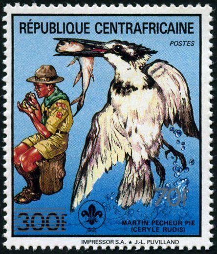 Le scoutisme en Centrafrique