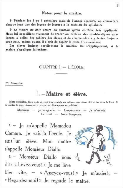 Les livres : Mamadou et Bineta