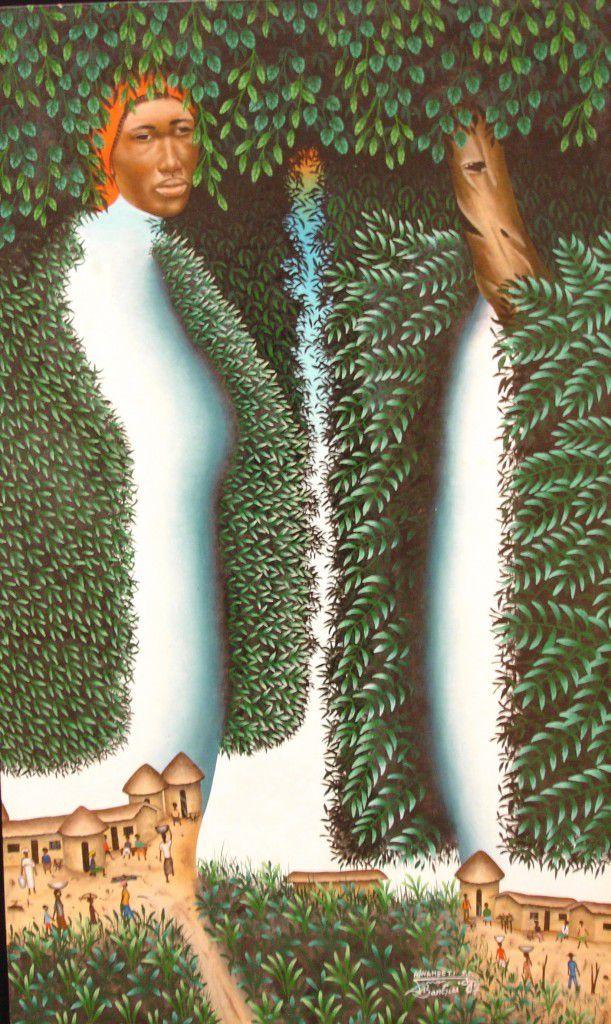 CENTRAFRIQUE : Dieudonné SANA WAMBETI - ARTISTE PEINTRE