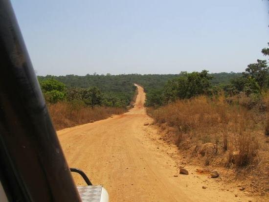 CENTRAFRIQUE : Traversée de la RCA d'Ouest en Est - 2012