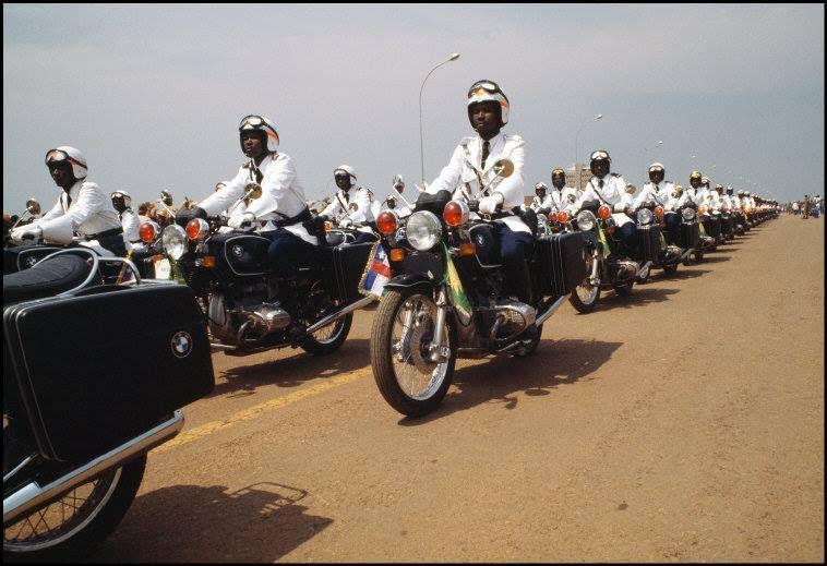 CENTRAFRIQUE : couronnement de l'Empereur Bokassa - Décembre 1977 - 1