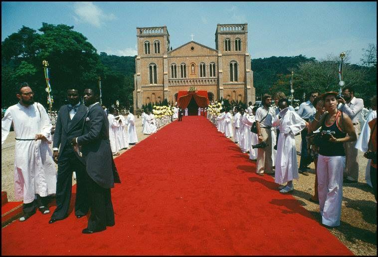 CENTRAFRIQUE : couronnement de l'Empereur Bokassa - Décembre 1977 - 3