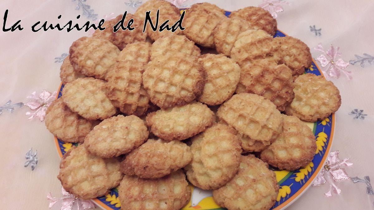 BISCUITS A LA NOIX DE COCO