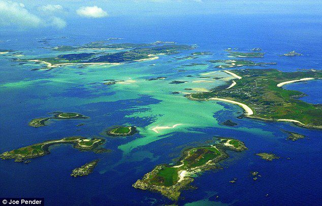 Les îles des Scilly ( Pointe sud Angleterre)