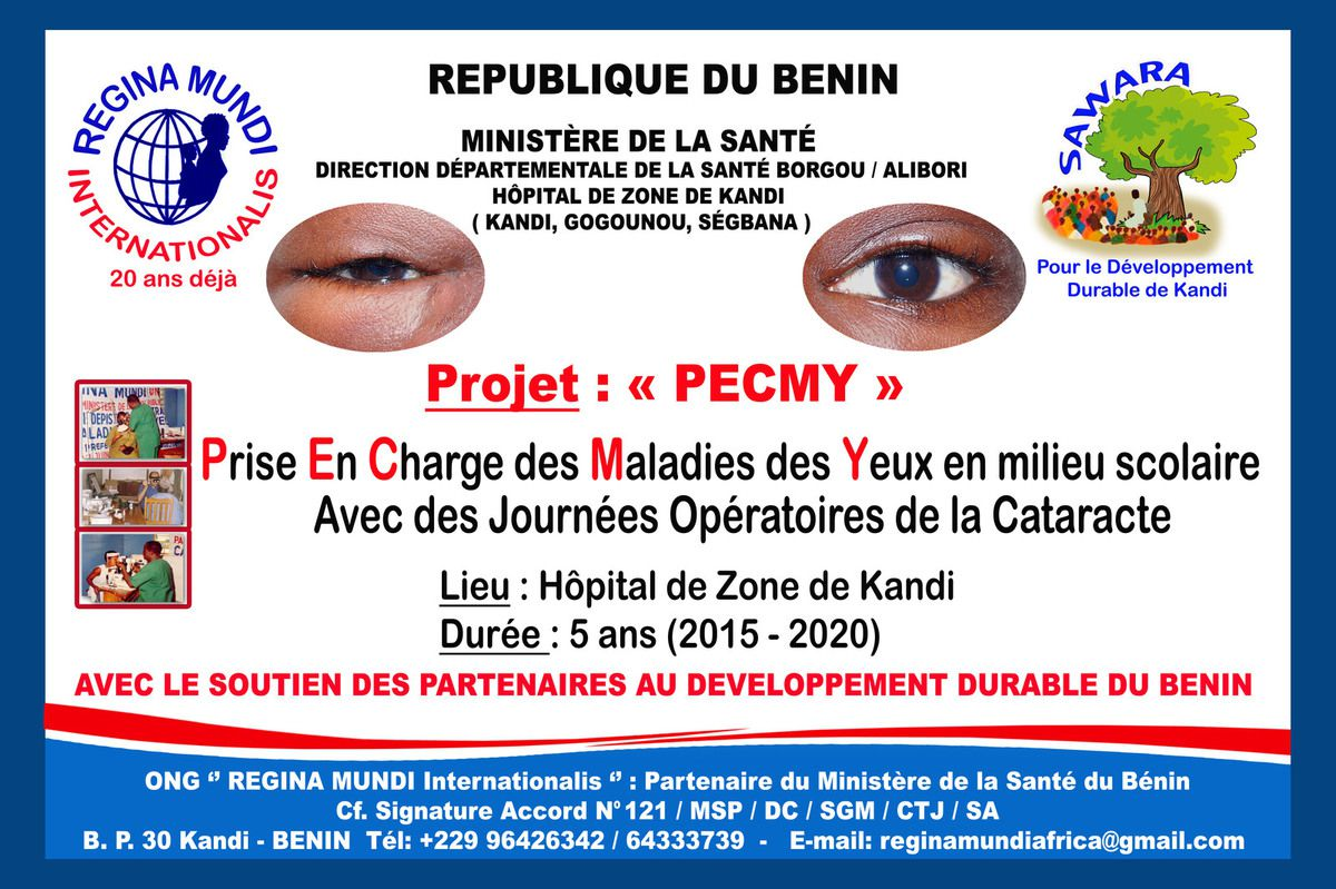 Causes de la cécité et des déficiences...Source: http://www.who.int/blindness/causes/fr/