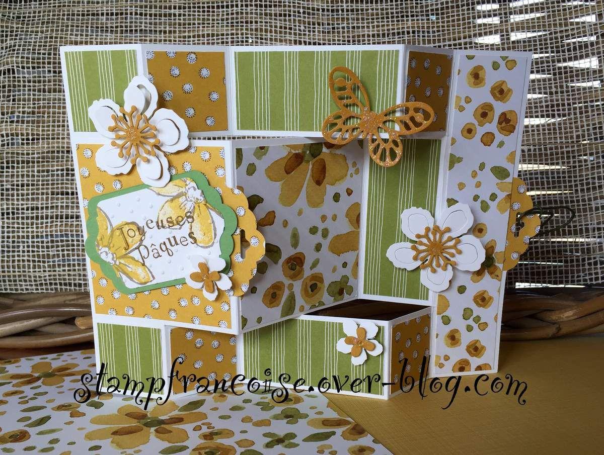 Stampin Up Papier Jardin Anglais / Sab  set de tampons Botanical Blooms et Garden in Bloom