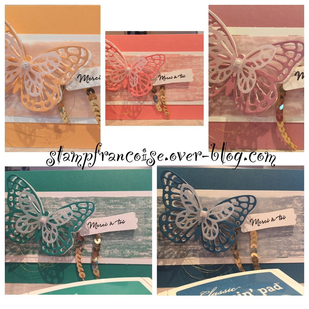 Nouvelles In Colors 2016/2018 Stampin Up