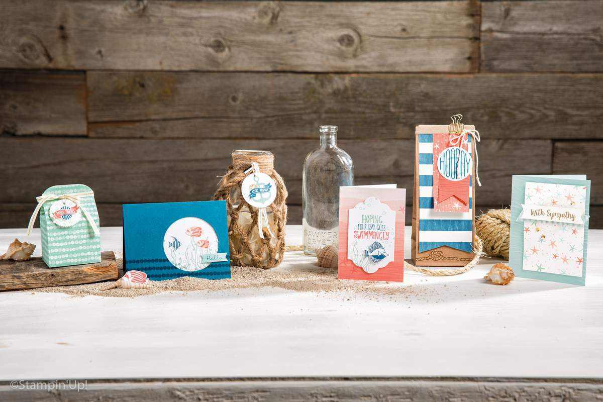 collection sur le rivage  Stampin Up