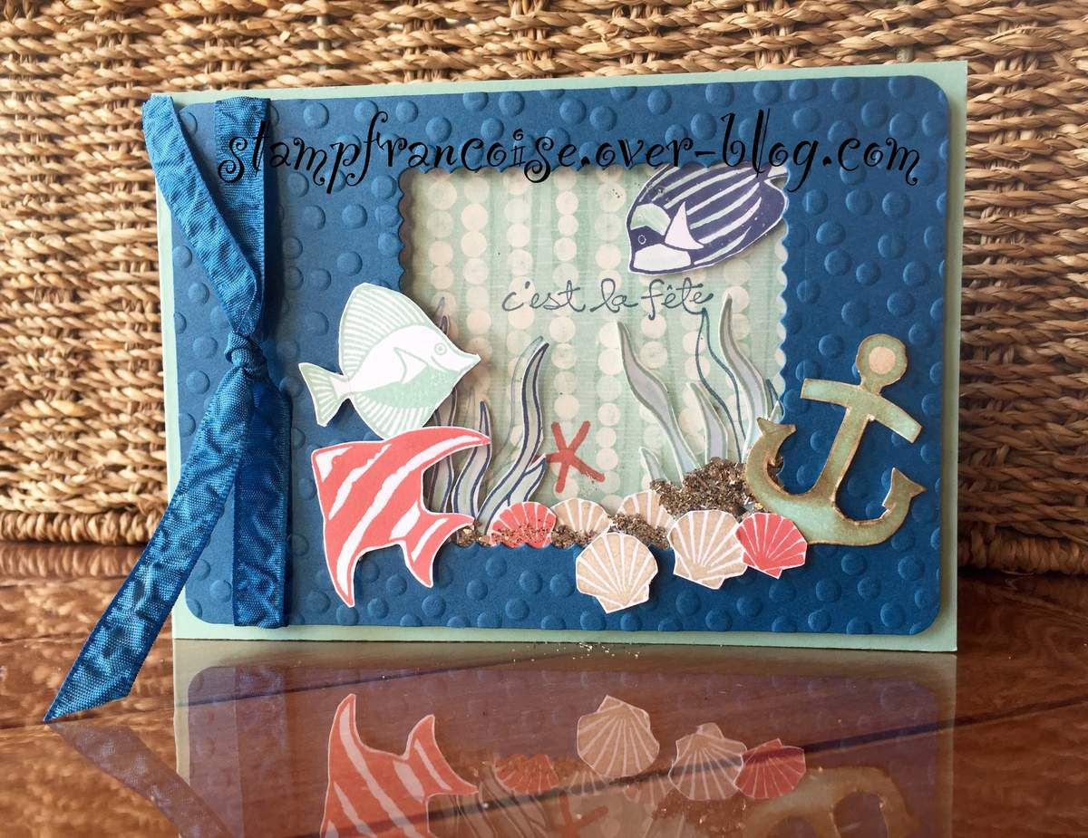 Set de tampons Stampin Up Sea side shore