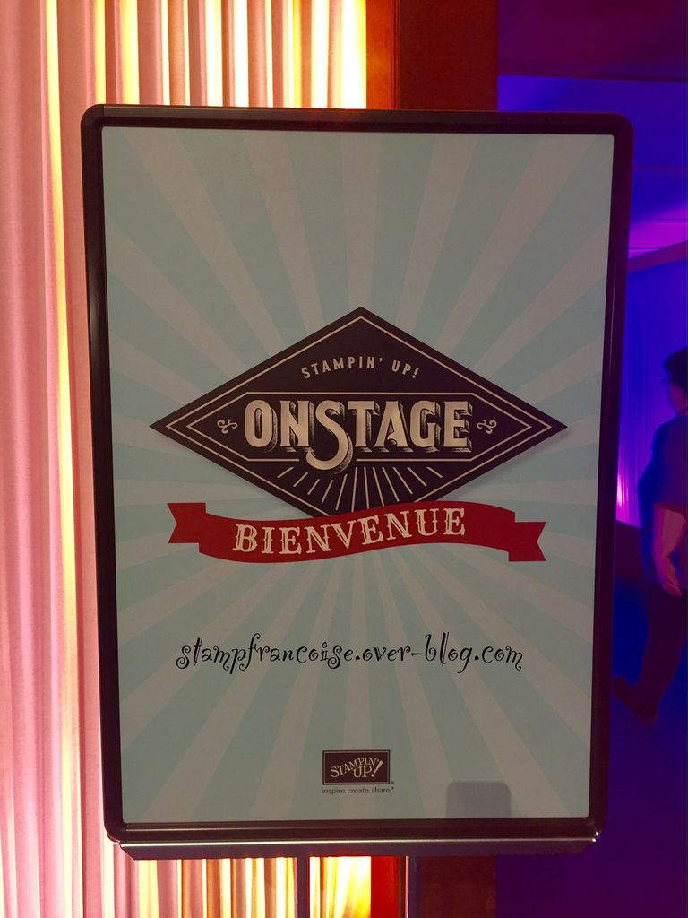 Stampin Up  On Stage à Disney Nouveau Catalogue SAB printemps 2017