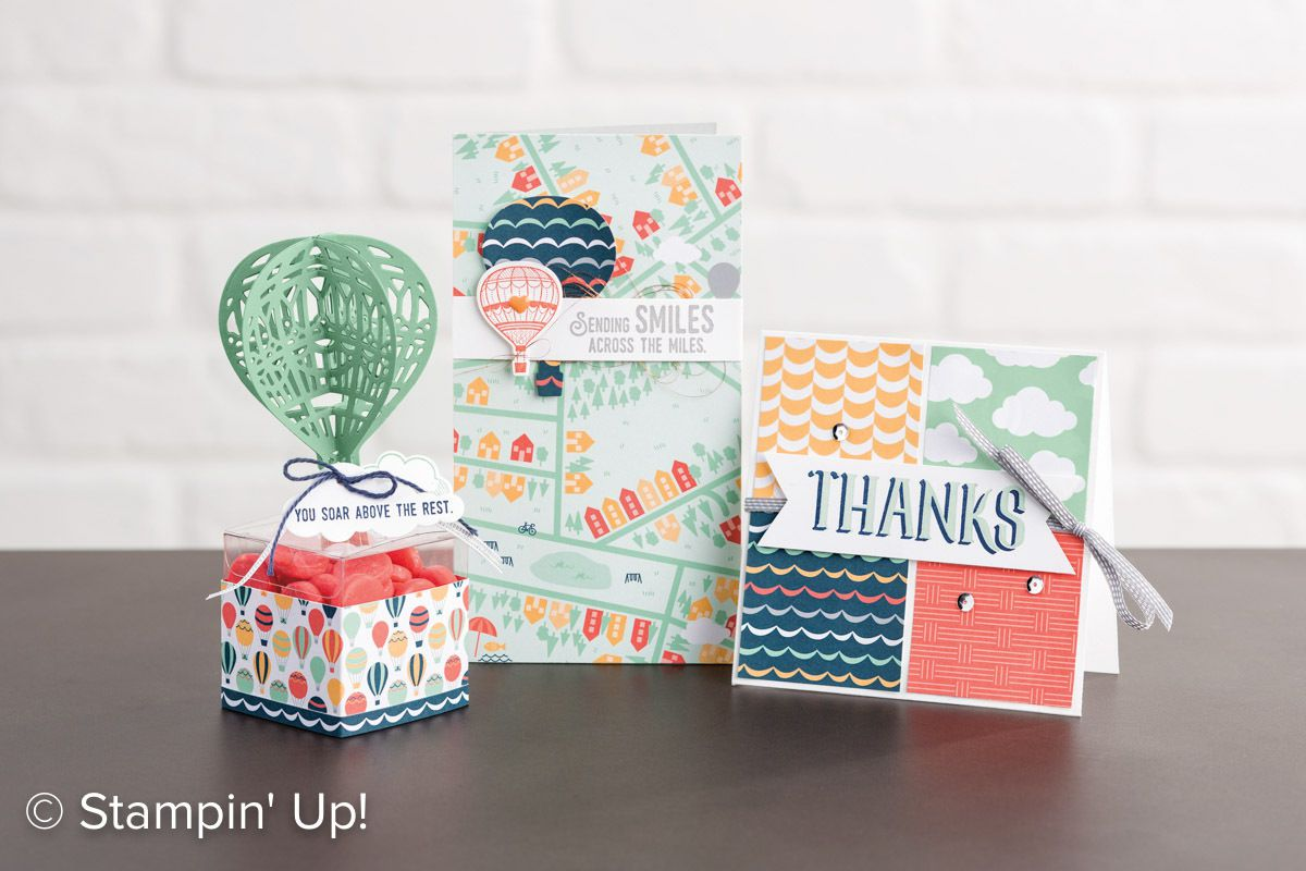 STAMPIN UP  Lift Me Up and Away Lot gentil remontant
