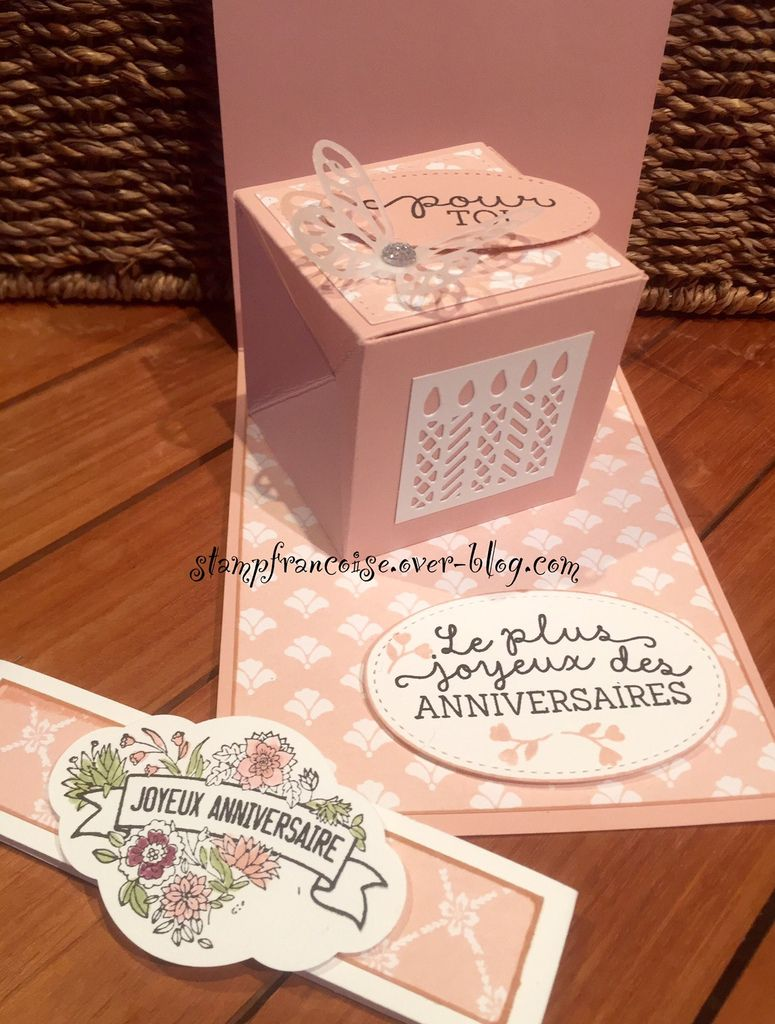 Stampin' Up carte Pop Up