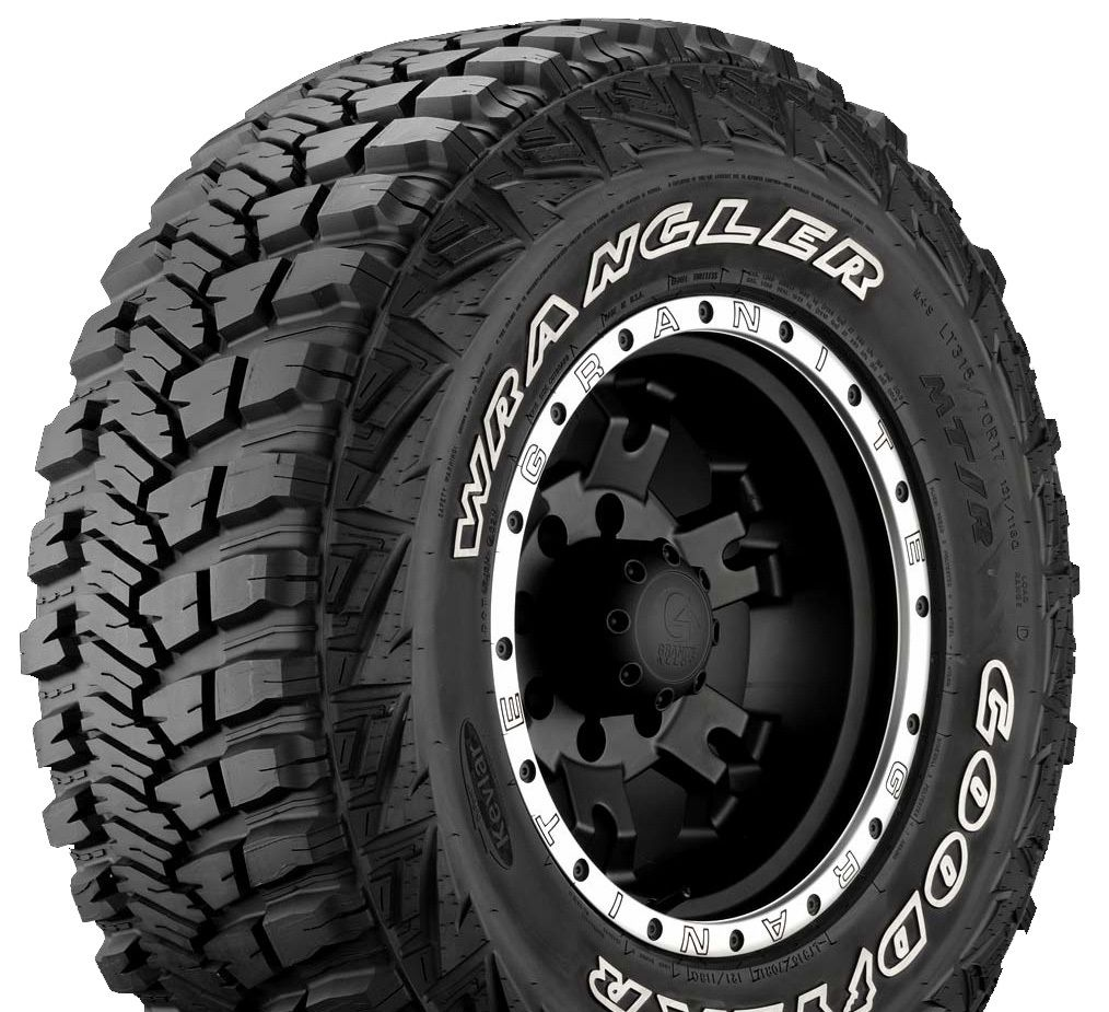 goodyear wrangler mt r le pneu 4x4 tout terrain qui vous. Black Bedroom Furniture Sets. Home Design Ideas