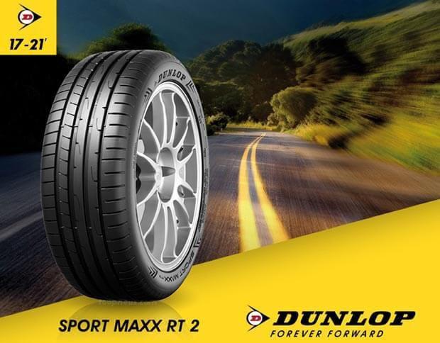 focus sur le nouveau dunlop sport maxx rt2 pneusystem. Black Bedroom Furniture Sets. Home Design Ideas