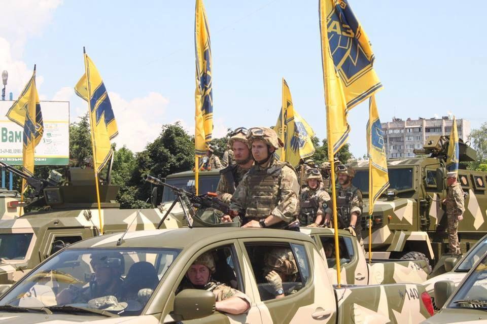 Andriy Biletskyi, commandant du régiment Azov
