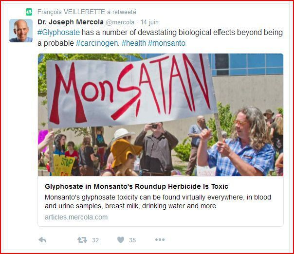 """Retweeter"" Joseph Mercola..."