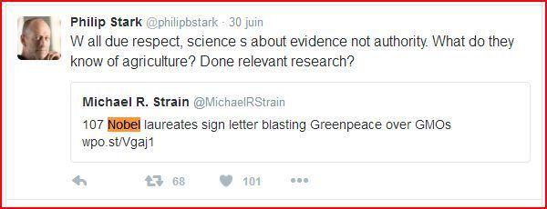 Les contre-feux minables de Greenpeace et amis à l'appel des Prix Nobel