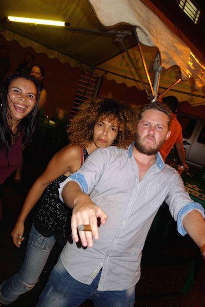 1ère étape : La soirée de départ de Guyane