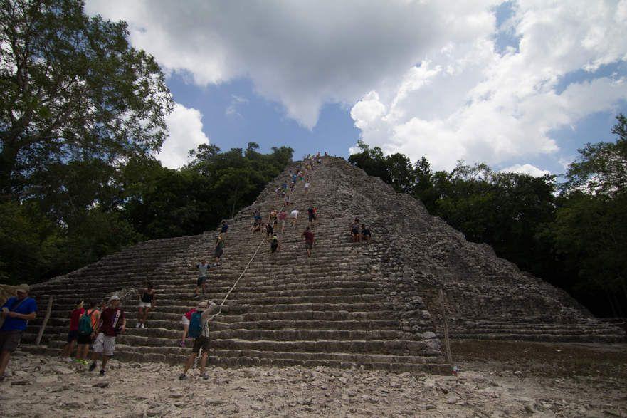 Les ruines de Coba