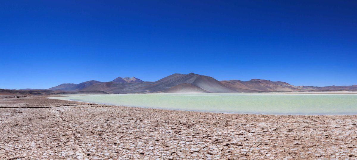 La lagune Piedras Rojas