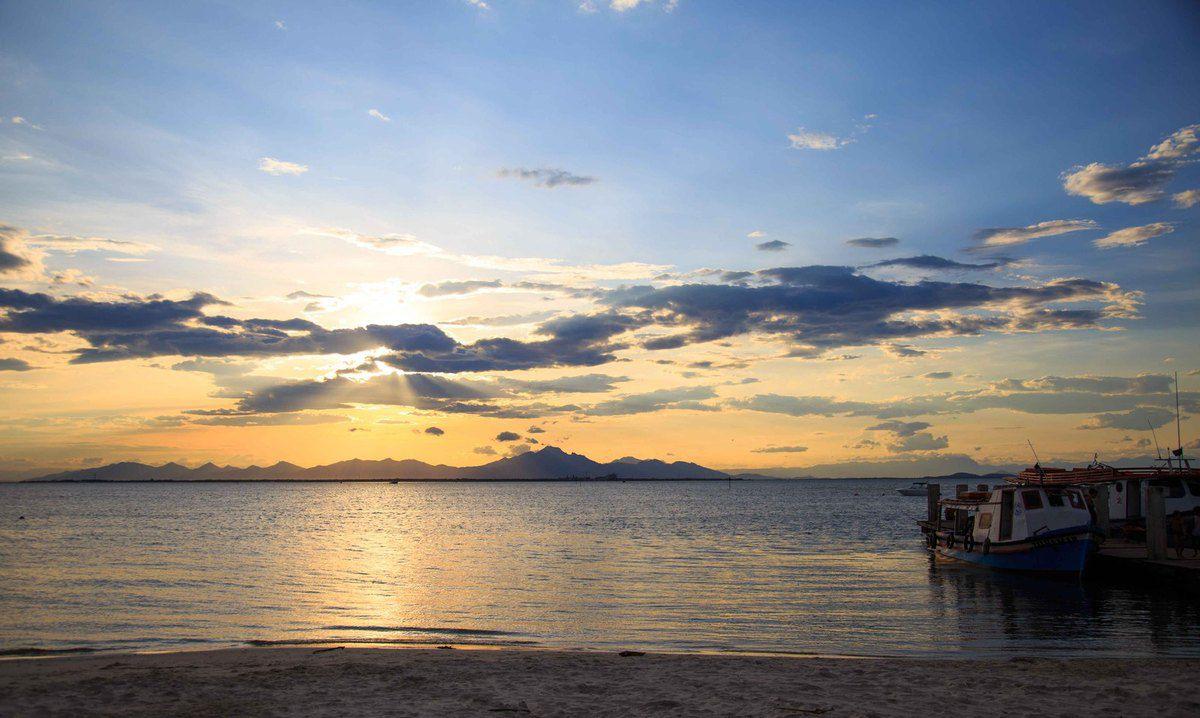 Coucher de soleil sur l'Isla Do Mel