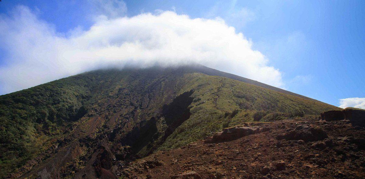 Vue depuis le mirador du volcan Conception. Altitude: 1000 m
