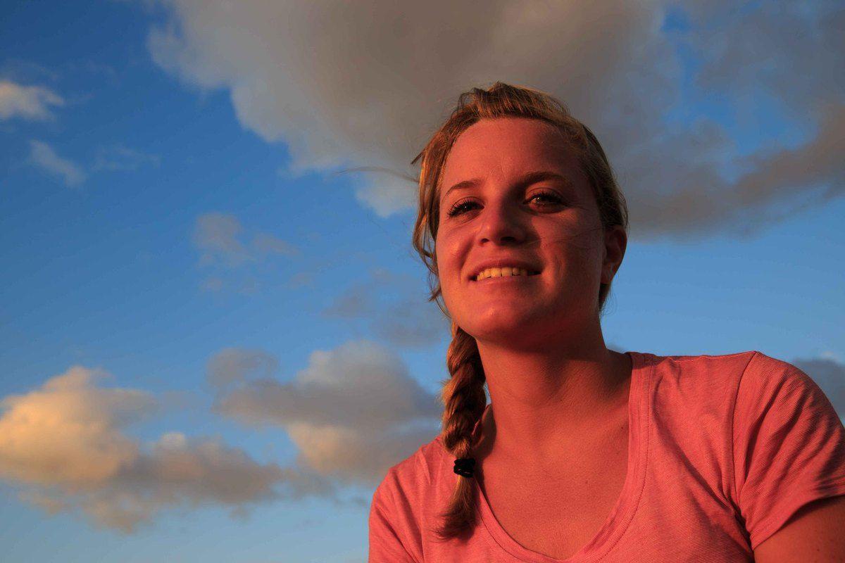 coucher de soleil à la Punta Jésus Maria