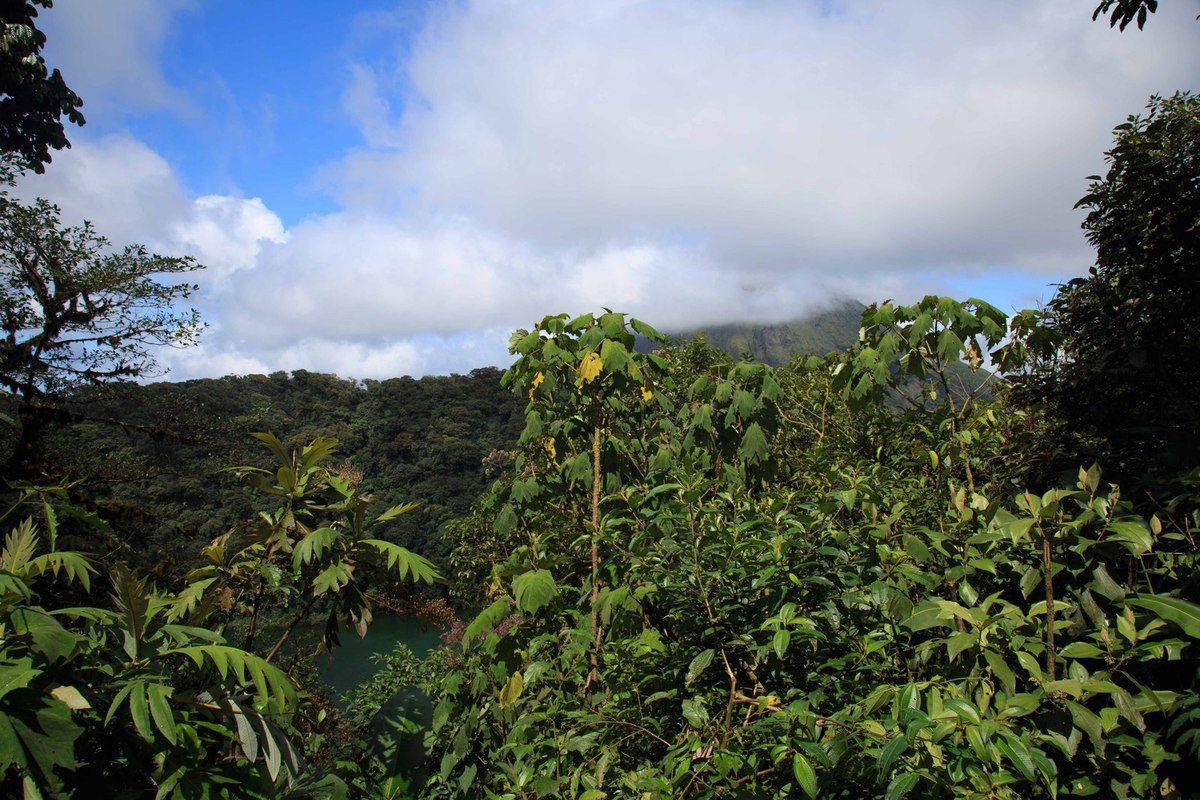 Ascension du volcan Cerro Chato