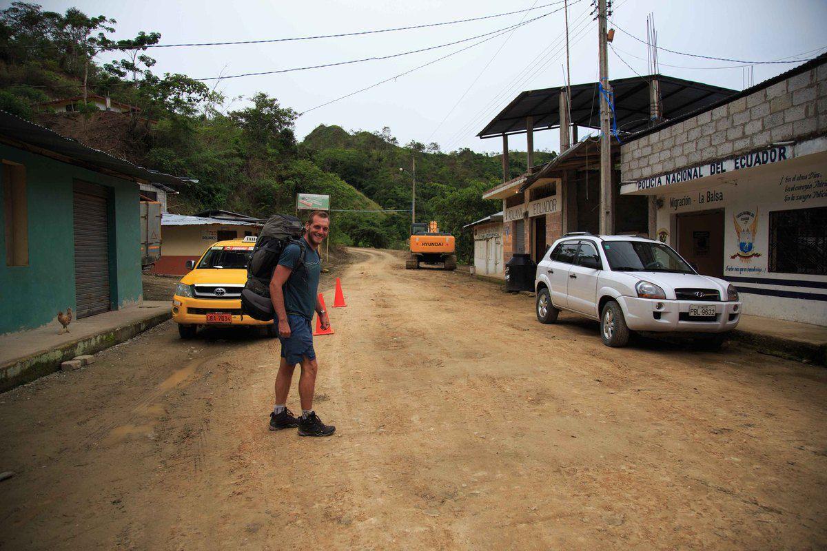 Passage de frontière Equateur - Pérou