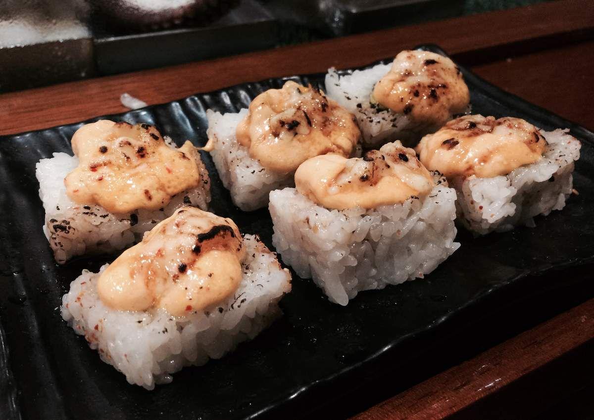 Soirée Sushis ! hmmmmmm